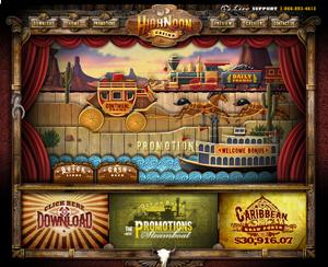 High Noon Casino Lobby